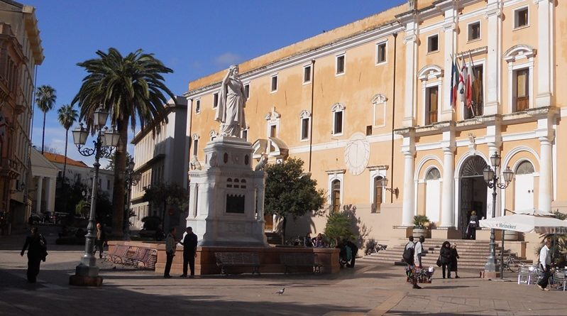 La vera storia del Monumento a Eleonora d'Arborea Oristano sabato 7 ottobre 2017