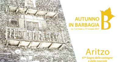 Aritzo Cortes Apertas 28 e 29 ottobre 2017 programma completo
