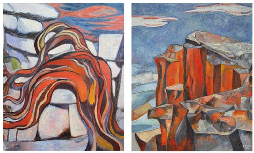 Giorgio Corso Opere. Il 20 ottobre 2017 alle ore 19:00 si inaugura a Cagliari nei locali dell'Hotel Italia  la nuova Mostra Rosso Corso, personale di pittura di Giorgio Corso.