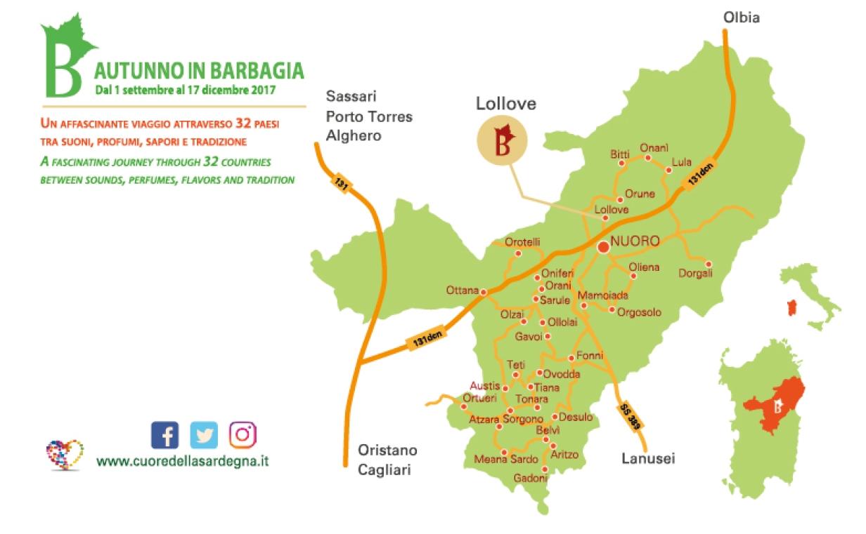 Lollove Cortes Apertas ViviLollove 14 e 15 ottobre 2017 programma completo e cartina