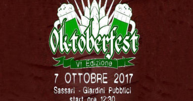 Oktoberfest Sassari 7 ottobre 2017 giardini pubblici