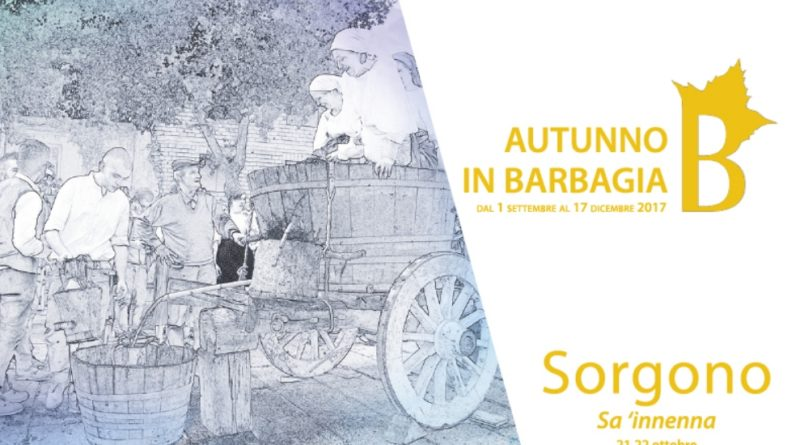 Sorgono Cortes Apertas 21 e 22 ottobre 2017 Sa 'innenna Programma Completo