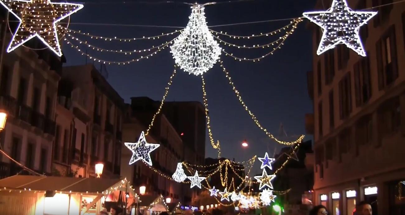 Natale 2017 a Cagliari Luminarie