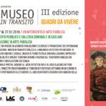ArCoEs – 16 dicembre 2017 inaugurazione della mostra Museo in Transito III edizione – Quadri da vivere