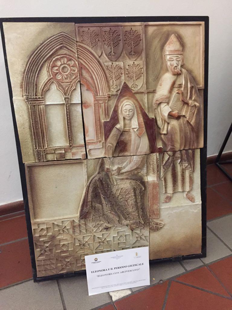 ceramiche a palazzo scolopi - Eleonora con Arcivescovo