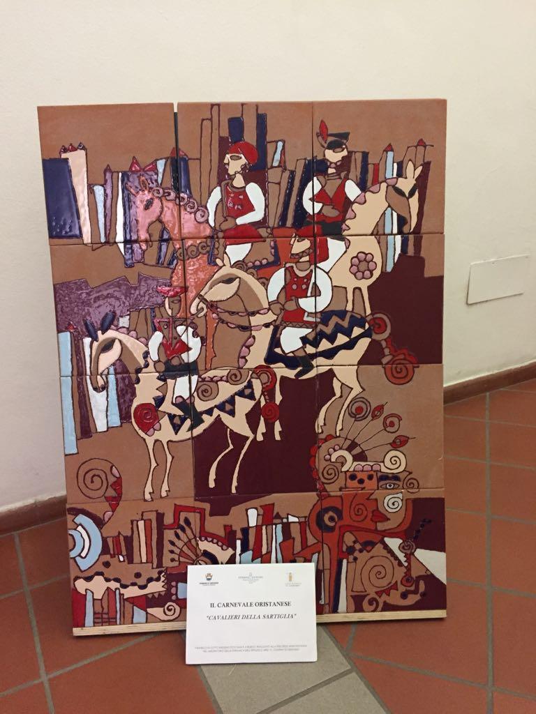ceramiche a palazzo scolopi - La Sartiglia