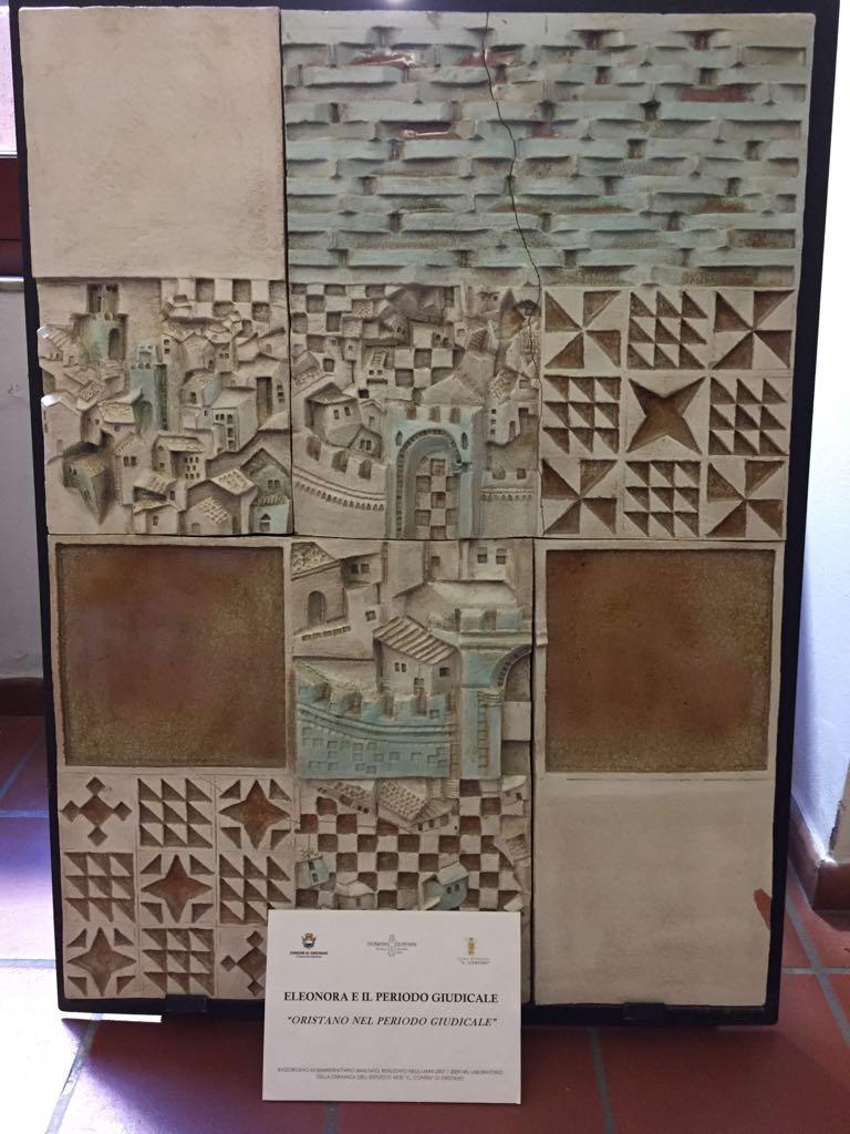 ceramiche a palazzo scolopi - Oristano nel periodo Giudicale