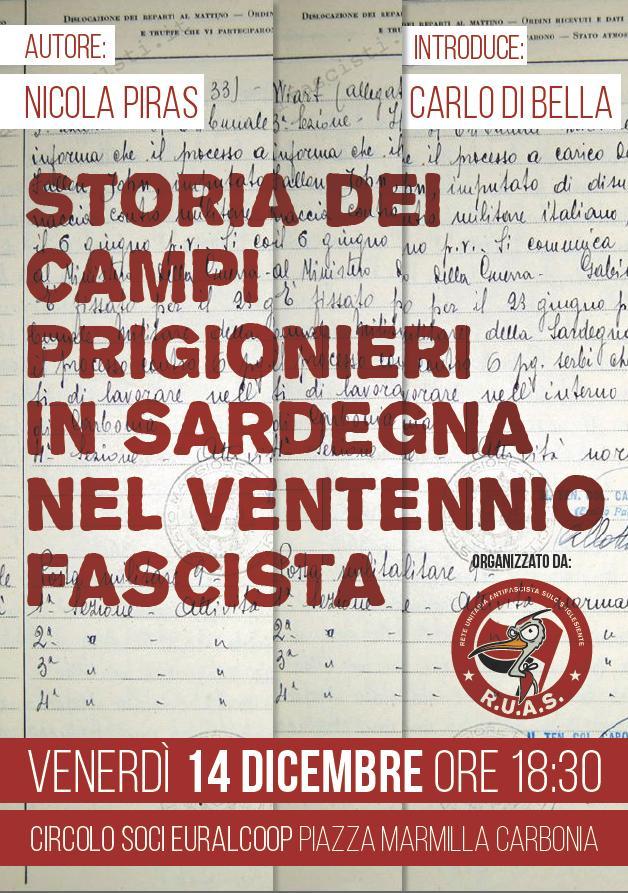 Storia dei campi di lavoro e detenzione in Sardegna nel ventennio fascista