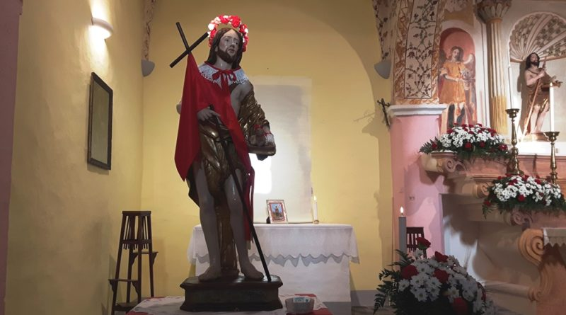 Festa di Sant'Isidoro Agricoltore Oristano presso la Chiesa de Santu Giuanni de Froris oggi sabato 18 maggio 2019