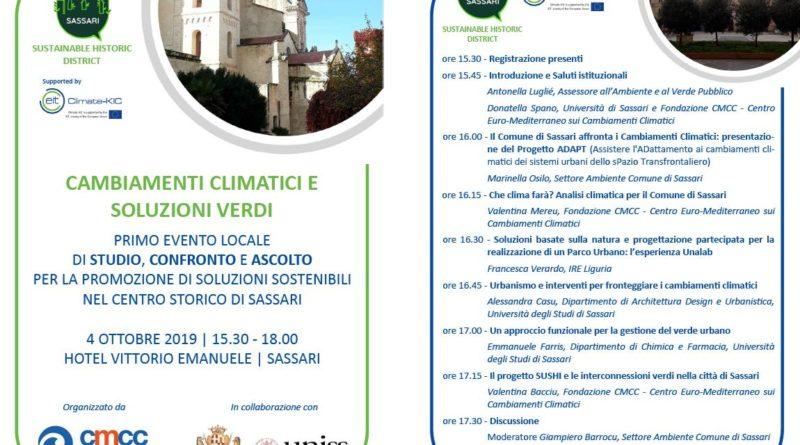 A Sassari ottobre è il mese della sostenibilità ambientale