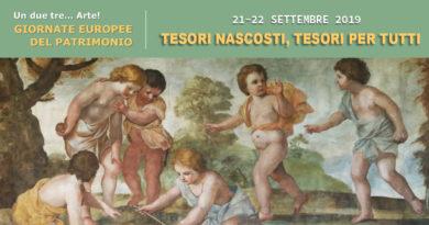 Giornate Europee del Patrimonio a Oristano sabato 21 e domenica 22 settembre 2019.