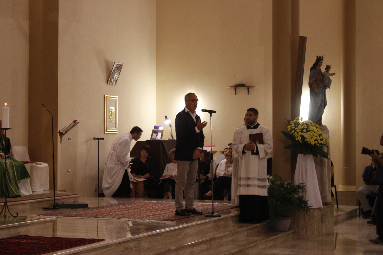 Don Franco Manunta a san Giovanni Bosco