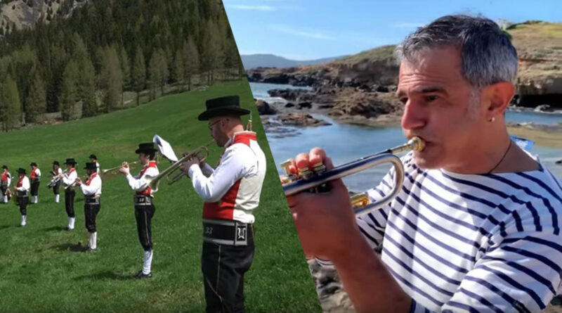 Paolo Fresu ed i Mùsega de Poza suonano No Potho Reposare